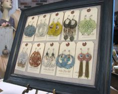 Craft Fair Jewelry Display Ideas | jewelry display for Adorn
