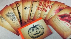 Halloween Party Invitations – Adult / Teen or Kids – Choice of 10 Designs in Home, Furniture & DIY, Celebrations & Occasions, Cards & Stationery   eBay