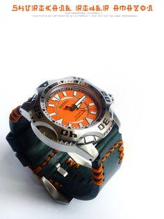 Seiko SKZ281 Orange Shuriken