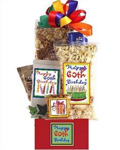 60th Birthday Gift Basket Party (bestseller)