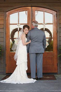 Bride and Father Photos | North Alabama Wedding Photography | Stone Bridge Farms Cullman, AL | Smith Squared Photography