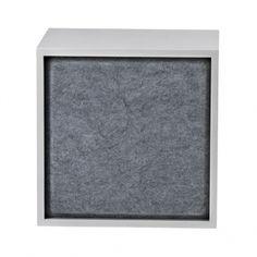 Muuto's Stacked acoustic panel, medium, grey melange