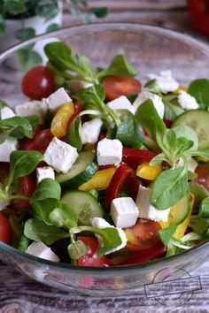 Low Carb Diet, Caprese Salad, Salad Recipes, Grilling, Salads, Good Food, Food And Drink, Menu, Dinner