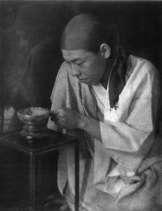 Imogen Cunningham, Boy with Incense, 1912