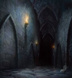 Underground fantasy: Part 2 - Dungeons, tombs & mazes.