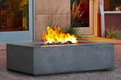 The Real Flame Baltic in. Fire Table - Glacier brings clean burning propane and beautiful design to your patio. This fiber-concrete fire table. Fire Pit Wall, Metal Fire Pit, Fire Pit Ring, Fire Pits, Propane Fire Pit Table, Gas Fire Table, Gazebo With Fire Pit, Fire Pit Backyard, Backyard Seating