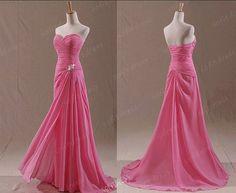 chiffon prom dresses long prom dress cheap prom by sofitdress, $119.00