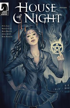 House of Night #1 (House of Night: The Graphic Novel #1) by P.C. Cast, Kristin Cast