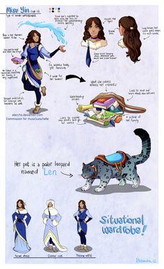 Commission - Avatar OC Misu Yin by ~Aleccha on deviantART