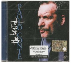 CD PAOLO CONTE THE BEST OF 1984 1987 1990 1996 NUOVO ORIGINALE SIGILLATO NEW ORIGINAL SEALED