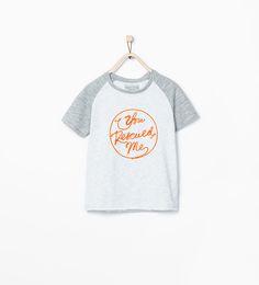 ZARA - SALE - Text t-shirt