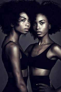 Brazilian Not Twin Sister Lesbians Kiss Mature Black