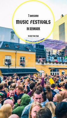 Here is the list of the best music festivals in Denmark to visit this year. See the best Denmark has to offer, including Roskilde, Copenhell, Distortion, and NorthSide. Europe Destinations, Europe Travel Tips, European Travel, Travel Guides, Euro Travel, Visit Denmark, Denmark Travel, Denmark Food, Festivals Around The World