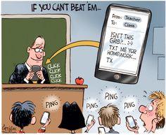 Teacher does texting Teacher technology Teaching humor Teacher humor