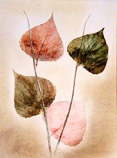 Botanische Kunst. Original stich. Kunst. von PaperArcsArt auf DaWanda.com