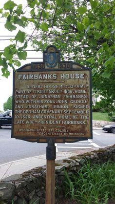 Fairbanks House - Dedham, MA