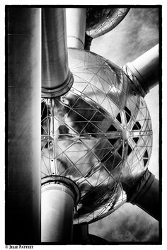 Atomium Brussels.    ~KJH~ I think I took a photo at this same spot.