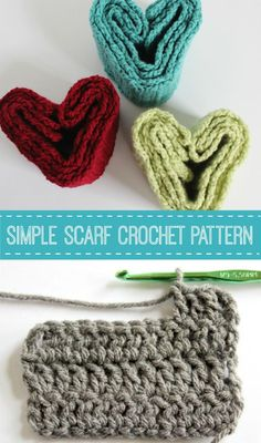 I'm happy to share my simple scarf crochet pattern with you. It's the perfect project for beginning crochet, you're going to love it!