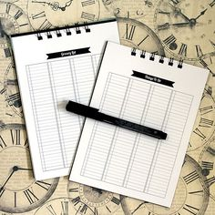 great planner printables by Lori Whitlock