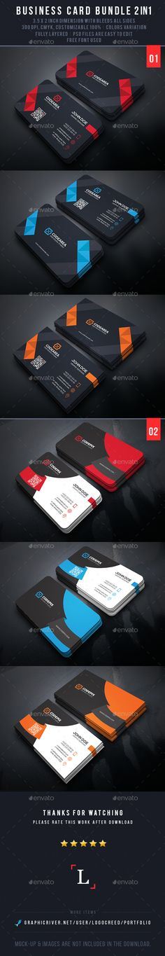 Mega Business Card Bundle — Photoshop PSD #creative #blue • Available here → https://graphicriver.net/item/mega-business-card-bundle/14066902?ref=pxcr