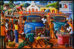mc-pictures-haitian-art-from-the-rodale-family-008 Andre Normil