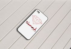 Red Diamond Supply Co iPhone 5 Case by birdspace on Etsy, $15.79