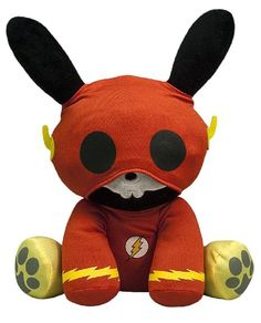 Amazon.com: Toynami Skelanimals DC Plush - Flash Jack: Toys & Games