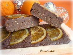 Turrón de chocolate y naranja 3 thermomix