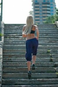 Jogging Up And Down Stairs Can Help You To Shed Pounds More Quickly