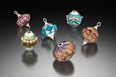 """""""For me, lampworking is an opportunity for limitless artistic expression, even when you don't expect it!!""""  ~Susie Harper Designs See her at the San Carlos Art & Wine Faire Oct 8 & 9,10am to 6pm Sat/10am to 5pm Sun, Learn more at http://pacificfinearts.com #PacificFineArtsFestivals #Fiber #VisualArt #ArtShare #BayAreaArtist #SanCarlosCa #Glass #Jewelry"""