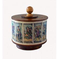 carillon legno da collezione ALMANACCO