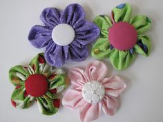 So, I have been going a little crazy with the fabric flowers lately .... and I have become obsessed with buttons, who has thebest selectio...