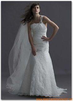Schöne Brautkleider stuttgart aus Satin A-Linie online 2012