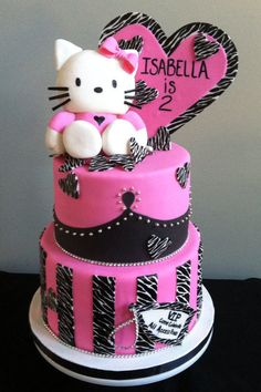 Hello Kitty Cake @Tara Harmon Semaniuk made me think of Ricky
