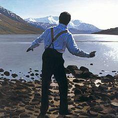 """Throwing Stones"" ~  Iain Faulkner (Scottish, born 1973)"