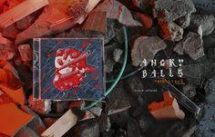 Music album art work illustration. CD packaging design