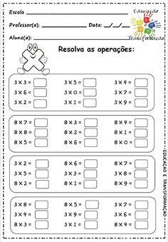 szorzások (van még több is) Second Grade Math, 4th Grade Math, Math Class, Kids Math Worksheets, Maths Puzzles, Math Activities, Multiplication Sheets, Math Facts, Education English