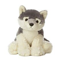 Whoever said that life is about the journey and not the destination obviously never owned the Destination Nation Wolf Stuffed Animal by Aurora! This twelve inch plush wolf is made with super soft plush fabric that will lead you on a journey Wolf Stuffed Animal, Baby Stuffed Animals, Stuffed Toy, Wolf Plush, Grey Stuff, Animes Yandere, Cute Toys, Cute Animals, Plush Animals