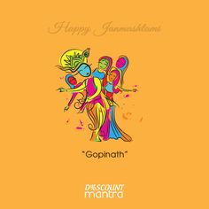 On the pious day of #Janmashtami, we portray the different forms and names of Lord Krishna through these minimalist posters. Trying to depict different phases of his life through these small creatives. www.discountmantra.in