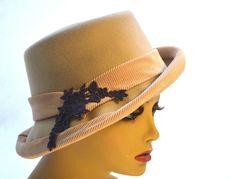 """Coachman""   BY BRIDGET EARLY #millinery #hats #HatAcademy"