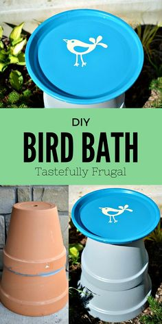 DIY Bird Bath: Make