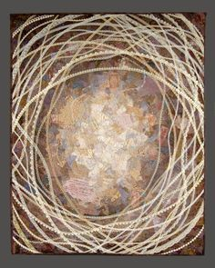 """""""Circa 1910"""" by Diane Herbort:  """"Lace, in all its forms, has been an important part of my work, as necessary to me as cloth or paper or thread."""""""