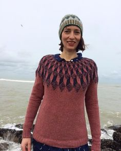 """264 Likes, 16 Comments - Ines Schweiger (@inesschweiger) on Instagram: """"Trembling sweater Ahoy! Test knit from the new book by Anna Maltz, Marlisle, a new direction in…"""""""