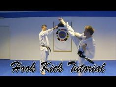 Taekwondo Hook Kick Tutorial (Aaron Gassor)