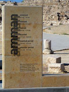 Ruins at Amman, Jordan