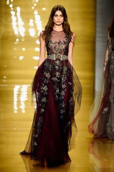Reem Acra - Runway - Mercedes-Benz Fashion Week Fall. Beautiful.