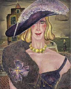 Reimond Kimpe (1885-1970) La Cocotte 1941 (80,5 x 65,5 cm)