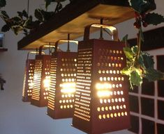 Recycled Metal Light Fixtures for your Home Grater