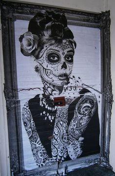 This is the best Dias los muertos Audrey Hepburn i have ever seen. by Anlij