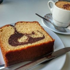 Kafe und kuchen  I wasn't expecting such a large cake!   #Kafe #kuchen #kafeundkuchen #cake #coffee #cappuccino #instacake #instacoffee #instaweekend #instafun #weekend #weekendfun